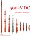 China Composite Polymeric Silicone Rubber Insulator 500kv Creepage Distance 17600mm wholesale