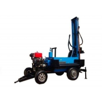 China 70m Trailer Mounted Soil Test Drilling Rig Machine wholesale