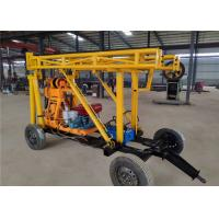 China ST100 Trailer Mounted Drilling Rigs wholesale