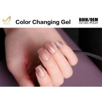 Eco - Friendly Mood Changing Gel Nail Polish Acrylic Resin Ingredients