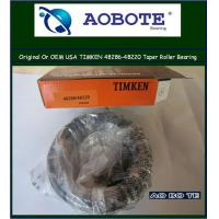 China Timken aerospace Authorized Tapered Roller Bearing to CNC machine 48286 / 48220 wholesale