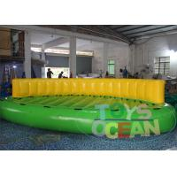 China 0.9mm PVC Inflatable Crazy Sofa Inflatable Sports Games Crazy UFO wholesale
