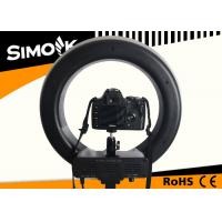 China Micro Photography Ring Light with SMT LED beads , 42W Camera LED Ring Light wholesale