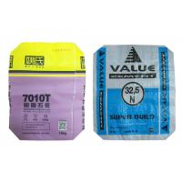 Quality Customized 50 Kg PP Polypropylene Cement Bags With Valve Bopp Laminated for sale