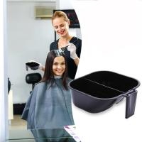 China Washable 2 In 1 Hair Dye Bowl , Hairdressing Tint Bowls With Measuring Line wholesale