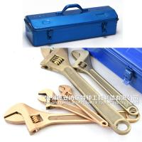 China Non sparking adjustable monkey spanner ,screw shift clyburn,spanner,universal hand tools Alcu , wholesale