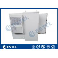 China 27U Air Conditioner Type Outdoor Communication Cabinets With One Front Door wholesale