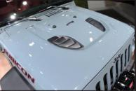 China Jeep Wrangler 2007+ Accessories Jeep Jk Wrangler 10th Anniversary Hood Material: Steel wholesale
