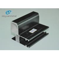 China Black Finished Powder Coating Aluminium Extrusion Profile For Decoration wholesale