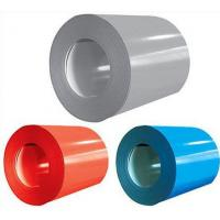 China 0.16 - 0.6mm Color Coated Aluminum Coil Durable For Office Buildings Roofing wholesale