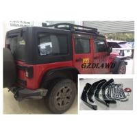 Jeep Wrangler Eyebrow 4 Doors , JK Crusher Wheel Arch Flares With Lights