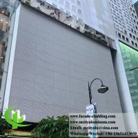 China Perforated wall cladding Aluminum Sheet for outdoor with powder coated 3mm wholesale