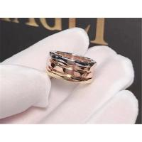 China Bvlgari three color classic gold  ring 18kt  gold  with white gold &  yellow gold & pink(rose)gold wholesale