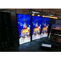 China WiFi Remote Control LED Poster Display Wall Mounted Exhibition Stand LED Banner Display on sale