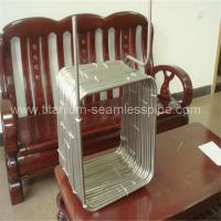 Long square coil Stainless steel evaporator/Long square titanium coil for evaporator