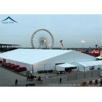 China Fabric Shade Canopy Wedding Reception Tent Customized Color UV - Resistant wholesale
