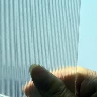 China 3MM cylinder plastic lenticular 30LPI 120x240cm for large size 3d print by injekt lenticular printing wholesale