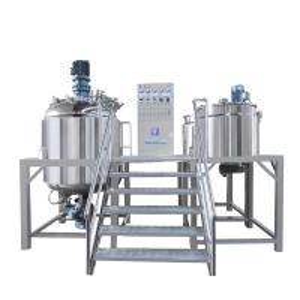 China Stable Cosmetic Cream Emulsifying Machine China Cream Storage Tank Exporter wholesale