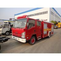 China Water Tank Fire Brigade Truck ISUZU 3.5ton 4t 4000 Liters Water Fire Fighting Truck wholesale