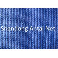 Quality Flame retardant HDPE orange safety net for construction in China for sale