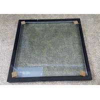 China Insulated Glass Panels With Black Frame / Sound Proof Insulated Replacement Glass wholesale