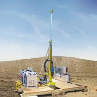 China ISO9001 Certification Portable Core Drill Rig with 21MPa/max  54L/min Water cooler wholesale