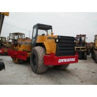 China Dynapac CA30D Second Hand Road Roller with  Pull Behind Rubber Tire Roller for sale wholesale