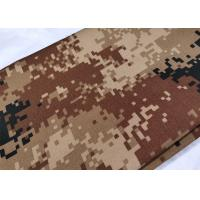 China Cotton High Strength Army Digital Camo Fabric Wrinkle Resistance 200 Gsm wholesale