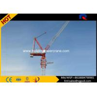 Quality Self Erecting 10 Ton Luffing Jib Tower Crane Lifting Equipment For Skyscrapers for sale
