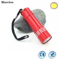 Buy cheap 45g Weight Cob Led Torch Flashlight , Mini LED Flashlight With Lanyard from wholesalers