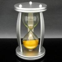Quality Classical Hourglass with 110 x 75cm Diameter, Transparent Type for sale