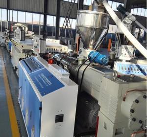 China Decoration PVC WPC Board Production Line Horizontal Structure CE Certificate wholesale