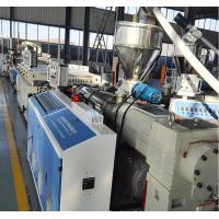 China Full Automatic WPC Board Production Line , Wood Plastic Extruder wholesale