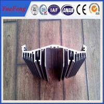 China heat sink aluminium profile for industry, china aluminum heat sink for light housing wholesale