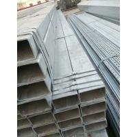 China Galvanized Iron Tube Galvanzied Square Steel Pipe Prefabricated House on sale