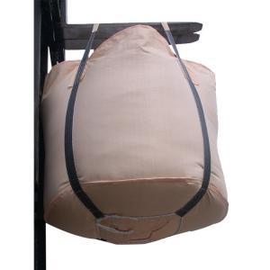 China 4 Loops Full Open Top One Ton Bulk Bags , PP Fabric Bulk Packaging Bags wholesale