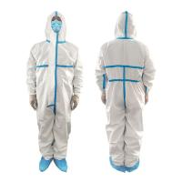 China Polypropylene Non Woven Waterproof Isolation Gown Single Use Non Irritating wholesale