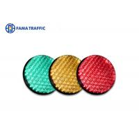 China High Efficiency Traffic Light LED Module , Traffic Signal LED Lights With 200mm Cobweb Lens wholesale