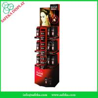 China Point of sale display stand Promotion advertising cardboard cosmetics display stand for store wholesale