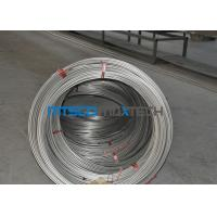 China S31700 / TP317 12.7mm Seamless Coiled Stainless Tube For Hater Tubing Line wholesale