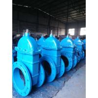 China BS5163 DIN3302 Ductile Cast Iron Rubber Coated Gate Sluice Valve (Z45X-10/16) on sale
