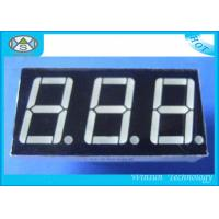 China 0.8 Inch 7 Segment LED Digital Display , Counter Display Three Digit For Household Eletronics wholesale