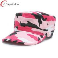 China Velcro Strap Camouflage Baseball Hats Closure Army with Cotton wholesale
