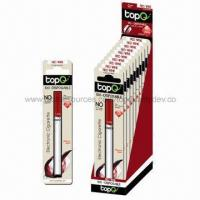 China 100mm Disposable E cigarette with Red Wine Coffee Flavors on sale