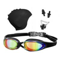 China Swimming goggles&Caps set for Adult wholesale