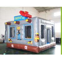China Inflatable kids jumping model for playing wholesale