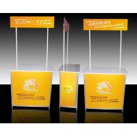 Quality Aluminum Promotional Display Counter High Resolution Digital Printing for sale