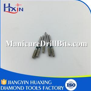 "Sliver Diamond Dental Drill Bits Dental Rotary Instruments 1/16"" Shank"