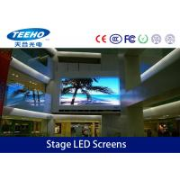 China 1R1G1B HD P3mm Stage LED Screens TV Panel For Entertainment , LED Stage Display 192 × 96MM on sale