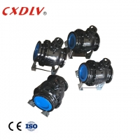 China DN150 Floating A216 WCB Trunnion Flanged Ball Valve wholesale